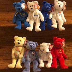 Ty Beanie Babies set of 8